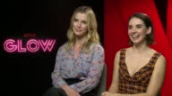 INTERVIEW Alison Brie Betty Gilpin on their favourite costumes the originality and the proof of exemplary roles for women at The Mandarin Oriental on...