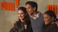 Alison Brie Danny Pudi Yvette Nicole Brown at the PUMA Presents The African Bazaar at Los Angeles CA