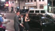 Alison Brie Dave Franco arriving to Wood Vine Bar in Hollywood in Celebrity Sightings in Los Angeles