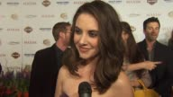 Alison Brie on being on the list on what's hot on her partner in a buddy cop movie at the 11th Annual Maxim Hot 100 at Los Angeles CA