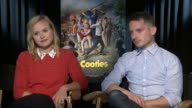 INTERVIEW Alison Pill and Elijah Wood on how they would describe this movie on all the movie references in the film on working with 2 directors at...