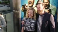 Alison Pill and Joshua Leonard at 'Keanu' Los Angeles Premiere at ArcLight Cinemas Cinerama Dome on April 27 2016 in Hollywood California