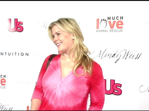 Alison Sweeney at the 1st Annual US Weekly Hollywood Holiday Shopping Party at Smashbox Studios in Culver City California on November 11 2004