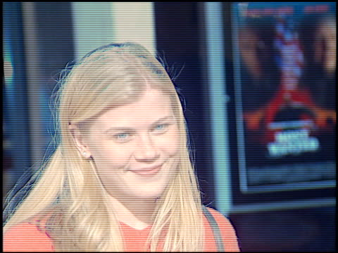 Alison Sweeney at the 'Most Wanted' Premiere at Cineplex Odeon Century Plaza in Century City California on October 7 1997