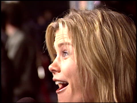 Alison Sweeney at the Premiere of 'The Big Bounce' on January 29 2004