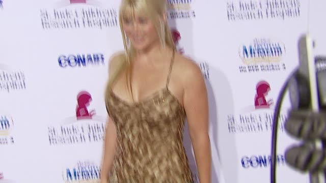 Alison Sweeney at the Runway For Life Benefiting St Jude Children's Research Hospital at the Beverly Hilton in Beverly Hills California on September...