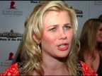Alison Sweeney at the St Jude 3rd Annual 'Runway For Life' on May 1 2005
