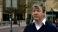 Alistair Carmichael MP interview SCOTLAND Aberdeen EXT Alistair Carmichael MP interview SOT Alistair Carmichael MP walking along street