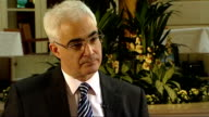 Alistair Darling interview Alistair Darling interview continued SOT National Insurance changes come in in April 2011 Heaviest burden will fall on...
