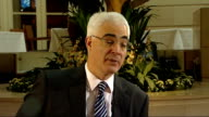 London INT Alistair Darling MP interview SOT VAT reduction is justified and will help Will continue to keep under review whats happening and if we...
