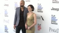 Alizee Gaillard and Darrin Charles at the 2017 Film Independent Spirit Awards Arrivals on February 25 2017 in Santa Monica California
