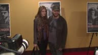 Alizee Guinochet and David Blaine at the 'The Messenger' New York Premiere at New York NY