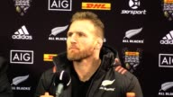 All Blacks Head Coach Steve Hansen assistant Ian Foster and captain Kieran Read run the rule over New Zealand's 3015 win over the British and Irish...