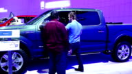 All New Ford F150 in the Canadian International AutoShow which is Canada's largest automotive show held annually at the Metro Toronto Convention...