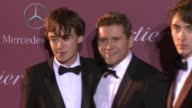 Allen Leech Alex Lawther and Matthew Beard at the 26th Annual Palm Springs International Film Festival Awards Gala Presented By Cartier on January 03...