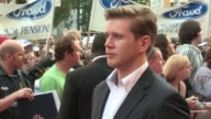 Allen Leech at The Sweeney European Premiere at Vue Leicester Square on September 03 2012 in London England