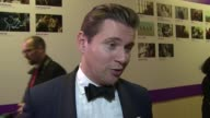 INTERVIEW Allen Leech on Cate Blanchett future plans and the awards at Banqueting House on October 17 2015 in London England