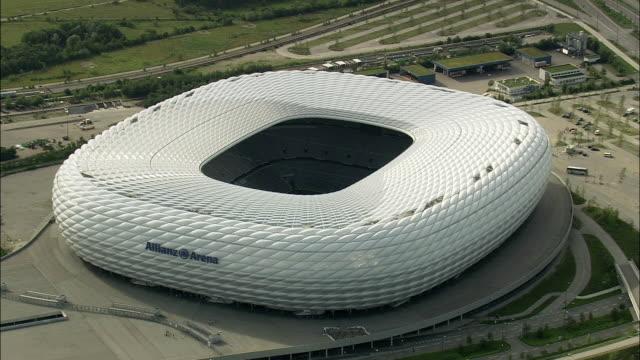 AERIAL CU Allianz Arena, Munich, Bavaria, Germany