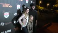 Allison Holker and Stephen Twitch Boss at the LA Haunted Hayride's 7th Annual VIP Black Carpet Event at Griffin Park Zoo on October 04 2015 in Los...