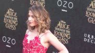 Allison Holker at the Premiere Of Disney's Alice Through The Looking Glass at El Capitan Theatre in Hollywood in Celebrity Sightings in Los Angeles