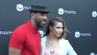Allison Holker Stephen 'tWitch' Boss at the 4moms Car Seat Launch Event at Petersen Automotive Museum in Celebrity Sightings in Los Angeles
