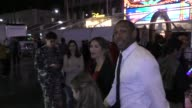"Allison Holker Stephen ""Twitch' Boss talk about Beauty The Beast movie outside Beauty And The Beast Premiere at El Capitan Theatre in Hollywood in..."