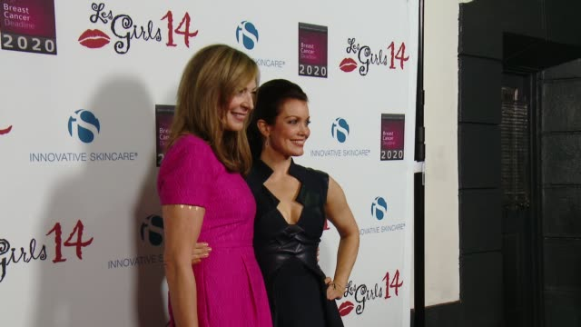 Allison Janney and Bellamy Young at The National Breast Cancer Coalition Fund's 14th Annual Les Girls at Avalon on October 06 2014 in Hollywood...