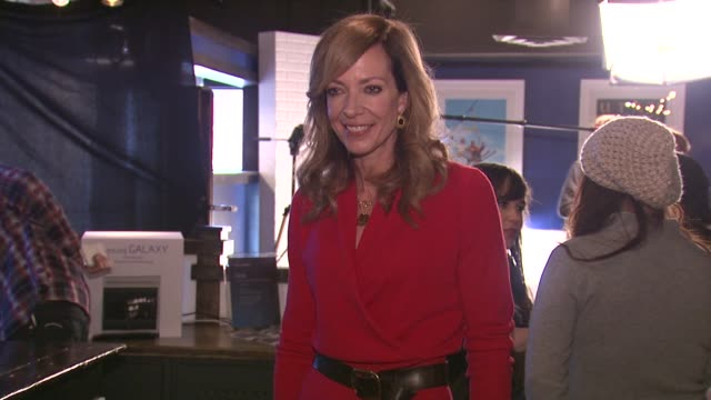 Allison Janney at Celebrities Visit The Samsung Galaxy Lounge Day 2 on 1/19/13 in Park City Utah