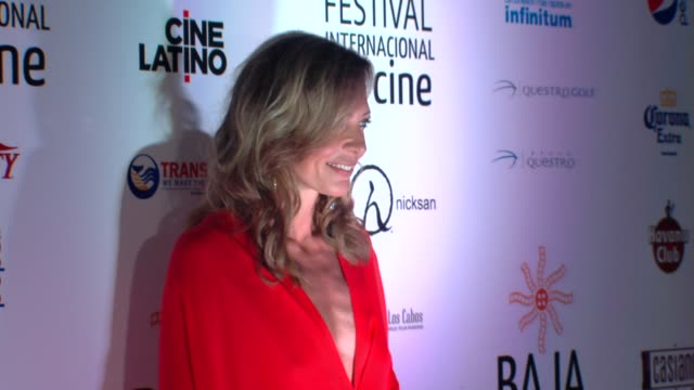 Allison Janney at Edward Norton honored at the Baja International Film Festival on 11/17/12 in Cabo San Lucas Mexico