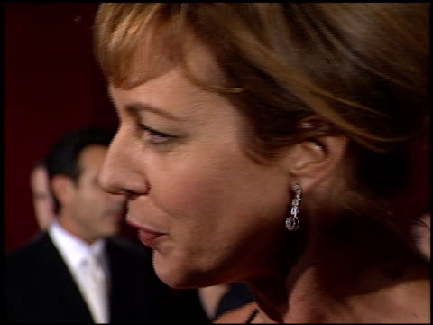 Allison Janney at the 2001 Emmy Awards at the Shubert Theater in Century City California on November 4 2001
