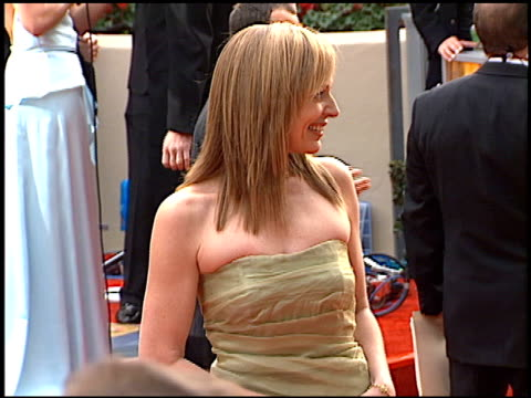 Allison Janney at the 2001 Golden Globe Awards at the Beverly Hilton in Beverly Hills California on January 21 2001
