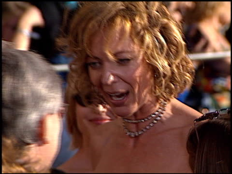 Allison Janney at the 2002 Screen Actors Guild SAG Awards at the Shrine Auditorium in Los Angeles California on March 10 2002