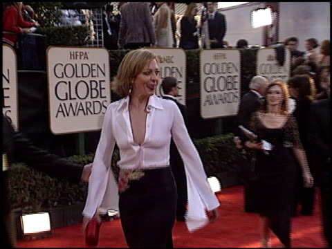 Allison Janney at the 2003 Golden Globe Awards at the Beverly Hilton in Beverly Hills California on January 19 2003