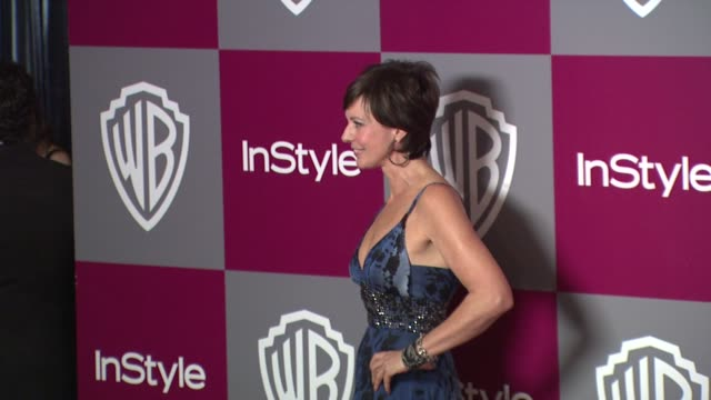 Allison Janney at the 2011 InStyle/Warner Brothers Golden Globe Awards Party at Beverly Hills CA