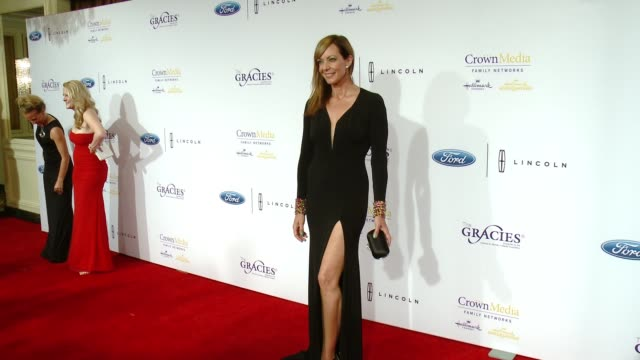 Allison Janney at The 41st Annual Gracie Awards in Los Angeles CA