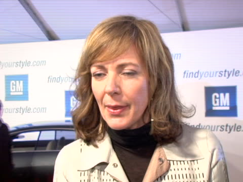 Allison Janney at the 4th Annual ten Fashion Show Presented By General Motors Arrivals Interviews at Pavilion in HollywoodPavilion in Hollywood in...