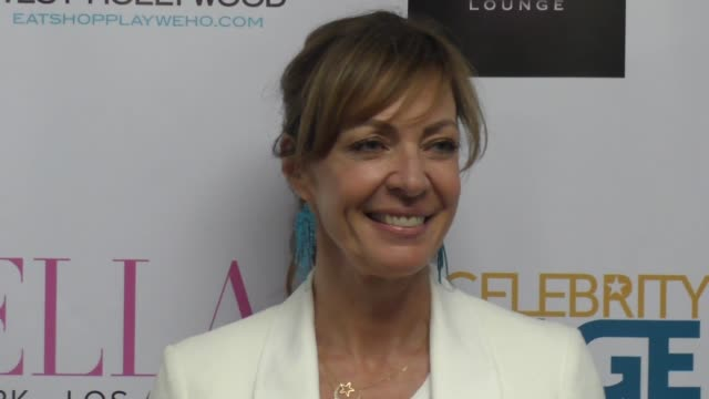 Allison Janney at the BELLA New York Magazine Beauty Issue cover party at SUR Restaurant in West Hollywood at Celebrity Sightings in Los Angeles on...