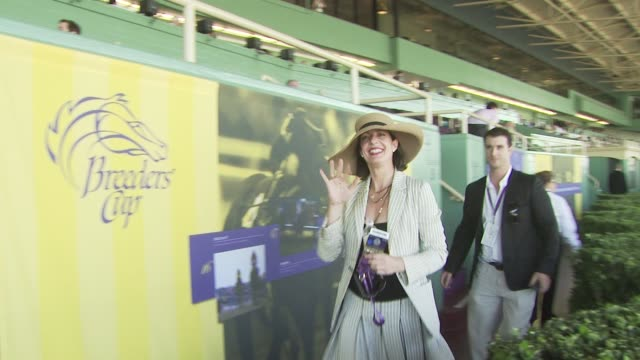 Allison Janney at the Breeders' Cup World Championships Day One at Los Angeles CA