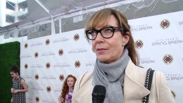INTERVIEW Allison Janney on the event at City Year Spring Break in Los Angeles CA