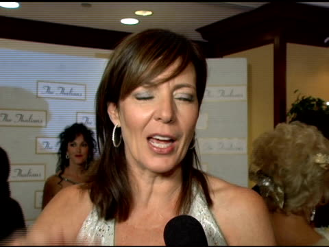 Allison Janney on wanting to become more involved with the Thalians at the 50th Anniversary of the Thalians at the Century Plaza Hotel in Century...