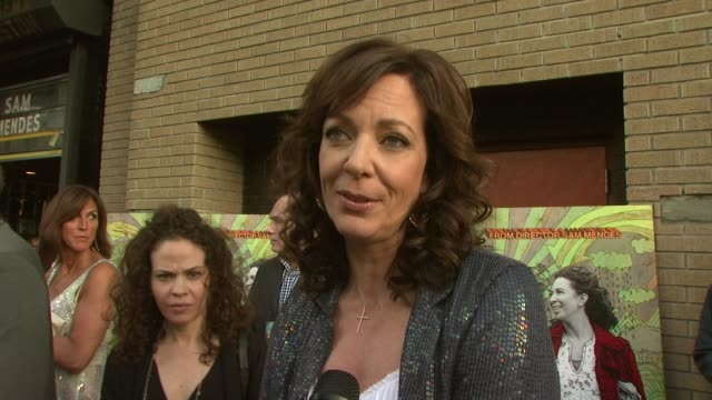 Allison Janney talking about her character Lily playing her so outrageously working with Sam Mendes again at the 'Away We Go' Screening at New York NY