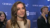 INTERVIEW Allison Williams on supporting the cause the new season of 'Girls' and being excited for the Golden Globes at 3rd Annual Sean Penn Friends...