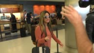 Ally Brooke at LAX Airport in Los Angeles Celebrity Sightings on January 07 2016 in Los Angeles California