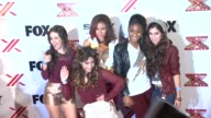 Ally Brooke Camila Cabello Normani Hamilton DinahJane Hansen Lauren Jauregui at The X Factor Viewing Party Sponsored By Sony X Headphones on in Los...