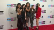 Ally Brooke Normani Hamilton Dinah Jane Hansen Camila Cabello and Lauren Jauregui of Fifth Harmoney arrive at the 2013 American Music Awards Arrivals
