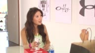 Ally Maki at the Muscle Milk Women's Fitness Retreat at Beverly Hills CA