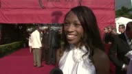 Allyson Felix at the 2008 ESPY Awards at Los Angeles CA