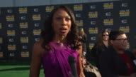 INTERVIEW Allyson Felix on the fans on what she loves about this award show and on who she's looking forward to seeing tonight at Cartoon Network...