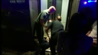 Almost a third of Londoners don't drink alcohol T21061039 / TX Various shots paramedics trying to help injured drunk man