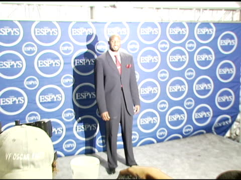 Alonzo Mourning at the 2006 ESPY Awards press room at the Kodak Theatre in Hollywood California on July 12 2006
